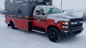 8487 Braun Chief XL Type l Ambulance