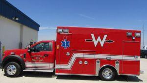 8660 Braun Chief XL Type l Ambulance